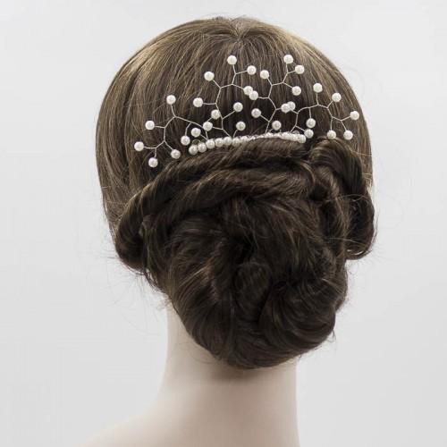 Peineta de perla para novia