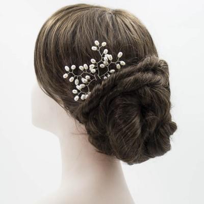Horquilla de perlas para novia