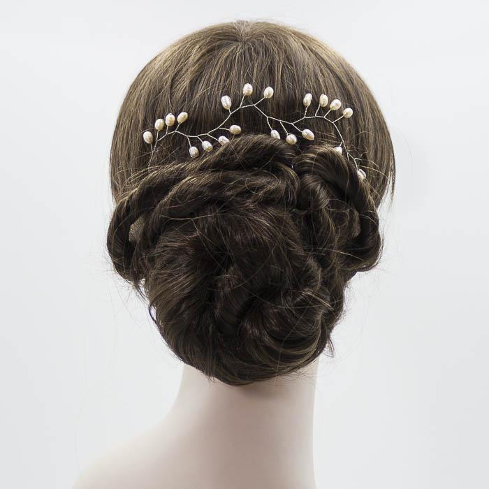 Detalle para pelo novia